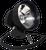 "HID Remote Spotlight 55w 4000 Lumens 6"" - 12v Cigarette Lighter Plug"