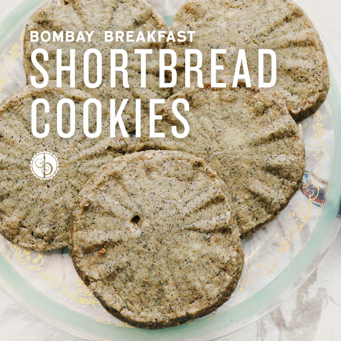 Bombay Breakfast Shortbread Cookies