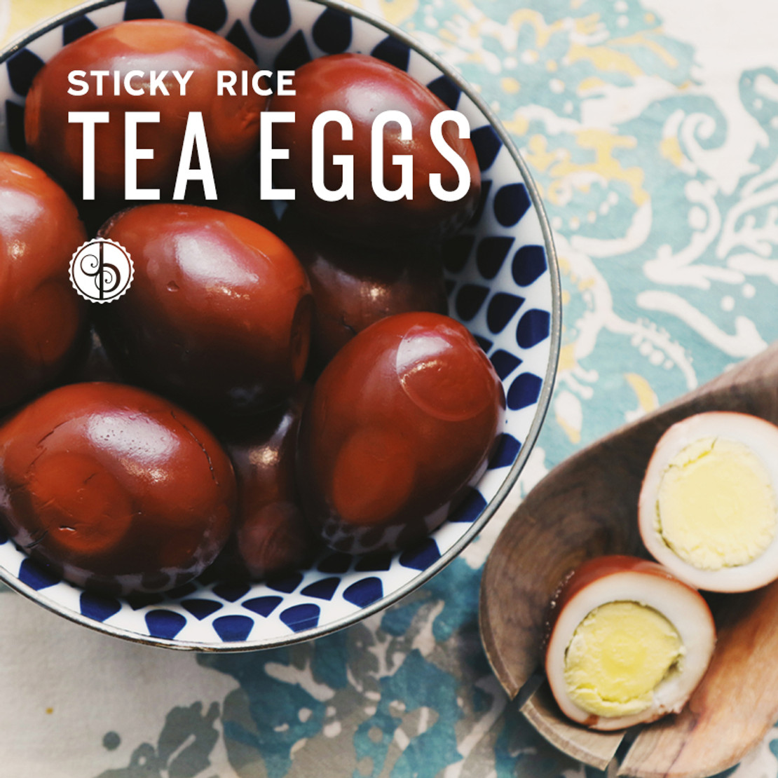 Sticky Rice Tea Eggs