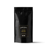 1 lb. packaging for Cocoa Deluxe loose leaf black tea from The Jasmine Pearl Tea Co.