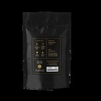 2 oz. packaging for Darjeeling loose leaf black tea from The Jasmine Pearl Tea Co.