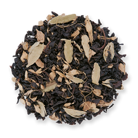 Ginger Peach loose leaf black tea from The Jasmine Pearl Tea Co.