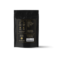 2 oz. packaging for Ginger Chai loose leaf black tea from The Jasmine Pearl Tea Co.