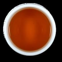 Cocoa Mint loose leaf black tea brew from The Jasmine Pearl Tea Co.
