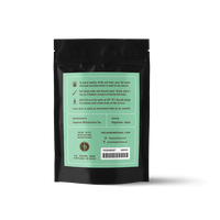 2 oz. packaging for First Flush Matcha green tea powder from The Jasmine Pearl Tea Co.