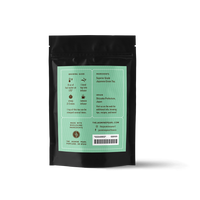 2 oz. packaging for Mayucha Sencha loose leaf green tea from The Jasmine Pearl Tea Co.