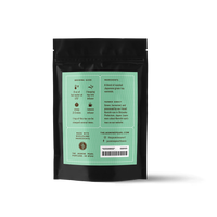 2 oz. packaging for Shinko loose leaf green tea from The Jasmine Pearl Tea Co.