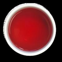 Lemon Hibiscus loose leaf herbal tea brew from The Jasmine Pearl Tea Co.