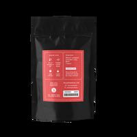 2 oz. packaging for Lemon Hibiscus loose leaf herbal tea from The Jasmine Pearl Tea Co.