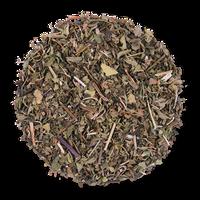 Northwest Mint loose leaf herbal tea from The Jasmine Pearl Tea Co.