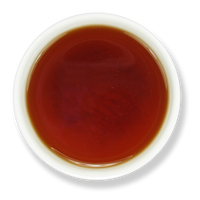 Cocoa Rouge loose leaf herbal tea brew from The Jasmine Pearl Tea Co.