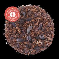 Cocoa Rouge loose leaf herbal tea from The Jasmine Pearl Tea Co.