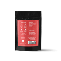2 oz. packaging for Cocoa Rouge loose leaf herbal tea from The Jasmine Pearl Tea Co.