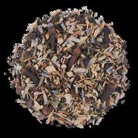 Dream Blend loose leaf herbal tea from The Jasmine Pearl Tea Co.