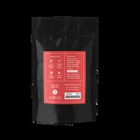 2 oz. packaging for Dream Blend loose leaf herbal tea from The Jasmine Pearl Tea Co.