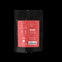 2 oz. packaging for Vanilla Rooibos loose leaf herbal tea from The Jasmine Pearl Tea Co.