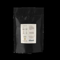 2 oz. packaging for Haiku loose leaf white tea from The Jasmine Pearl Tea Co.