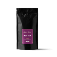 1 lb. packaging for Alishan Oolong loose leaf tea from The Jasmine Pearl Tea Co.
