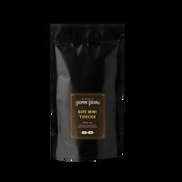 1 lb. packaging for Ripe Mini Tuocha loose leaf puerh tea from The Jasmine Pearl Tea Co.