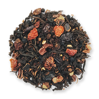 Black Wolf loose leaf puerh tea blend from The Jasmine Pearl Tea Co.