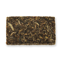 Yellow Bird raw puerh tea brick from The Jasmine Pearl Tea Co.