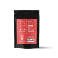2 oz. packaging for Honeybush Herb loose leaf herbal tea from The Jasmine Pearl Tea Co.