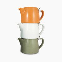 FORLIFE Stump Teapots, stacked | Wholesale Teaware from the Jasmine Pearl Tea Co.