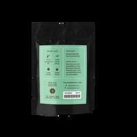 2 oz. packaging for Yuzu Sencha loose leaf green tea from the Jasmine Pearl Tea Co.