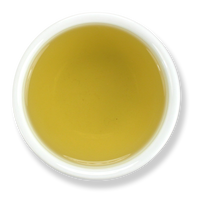 Organic chamomile flowers, brewed, from The Jasmine Pearl Tea Co.