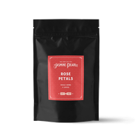 2 oz. packaging for Rose Petals from The Jasmine Pearl Tea Co.