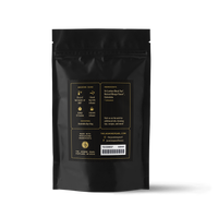 2 oz. packaging for Mango Ceylon loose leaf black tea from the Jasmine Pearl Tea Co.