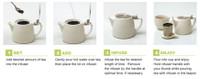 Stump Teapot - OLIVE