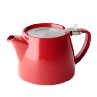Stump Teapot - RED