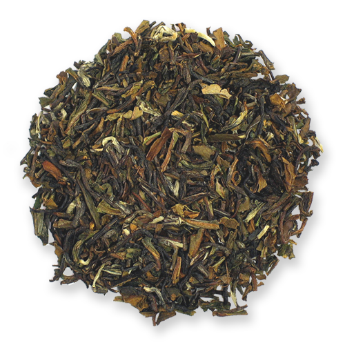 Darjeeling black loose leaf tea from The Jasmine Pearl Tea Co.