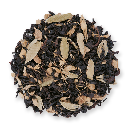 Ginger Peach loose leaf black tea from The Jasmine Pearl Tea Co.