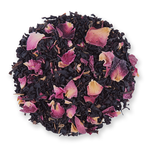 Vanilla Rose loose leaf black tea from The Jasmine Pearl Tea Co.