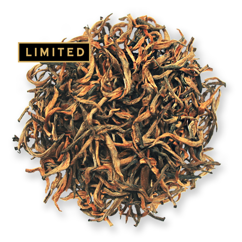 Golden Needles black loose leaf tea from The Jasmine Pearl Tea Co.