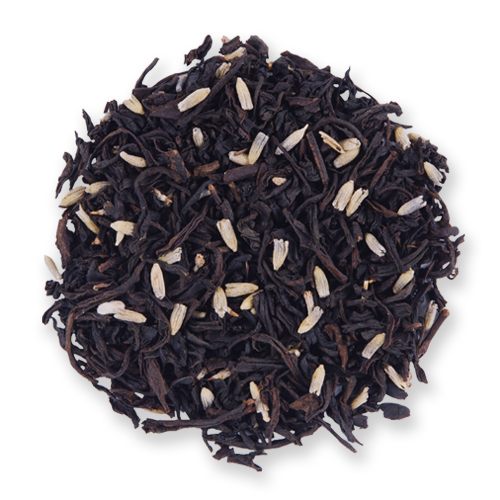 Earl Grey Lavender loose leaf black tea from The Jasmine Pearl Tea Co.