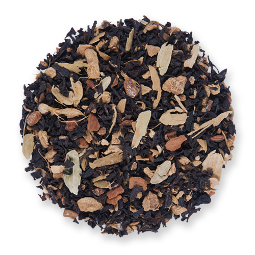 Ginger Chai loose leaf black tea from The Jasmine Pearl Tea Co.