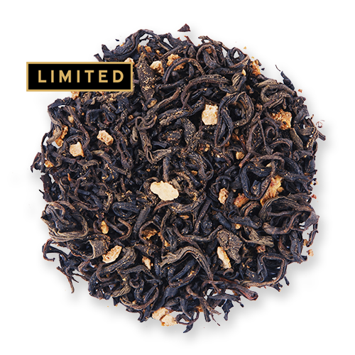 Yuzu Black loose leaf black tea from The Jasmine Pearl Tea Co.