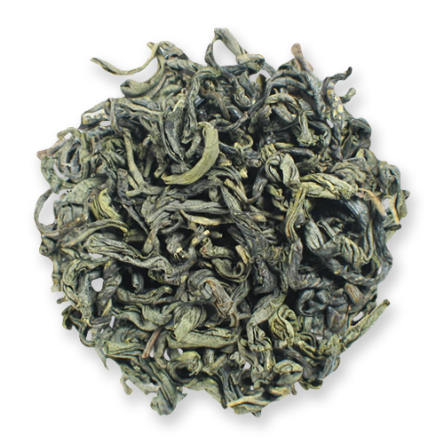 Chunmee loose leaf green tea from The Jasmine Pearl Tea Co.