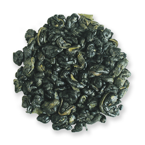 Gunpowder Pinhead loose leaf green tea from The Jasmine Pearl Tea Co.