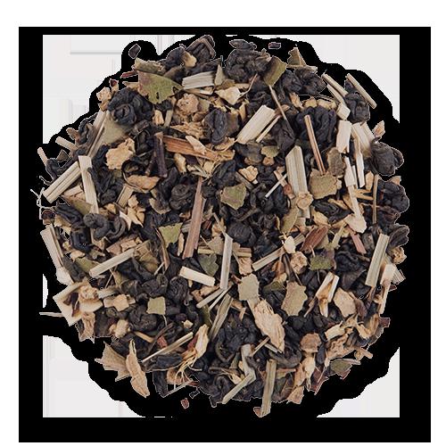 Honey Lemon Ginger loose leaf green tea from The Jasmine Pearl Tea Co.