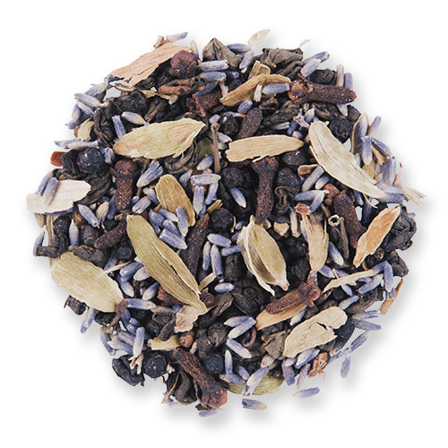 Kashmiri Chai loose leaf green tea from The Jasmine Pearl Tea Co.