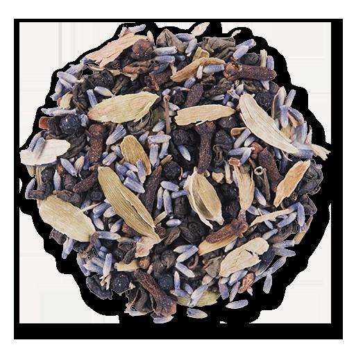 Kashmiri Chai loose leaf green tea from The Jasmine Pearl Tea Co.
