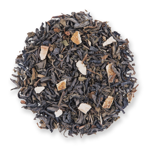 Mild Moroccan Mint loose leaf green tea from The Jasmine Pearl Tea Co.
