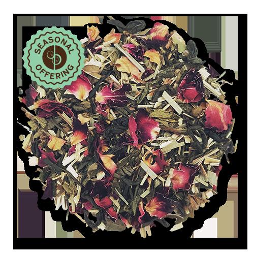 Tropical Green loose leaf green tea from The Jasmine Pearl Tea Co.