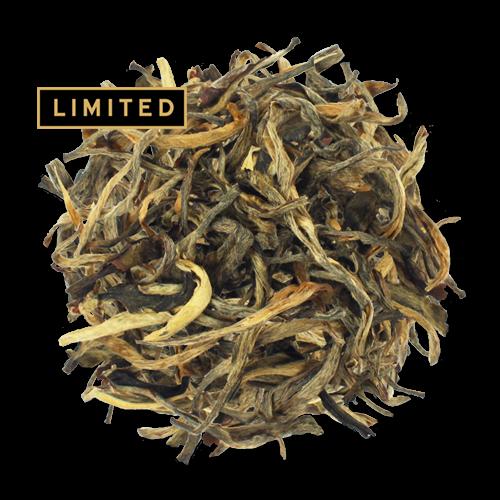 Yellow Mudan loose leaf yellow tea from The Jasmine Pearl Tea Co.