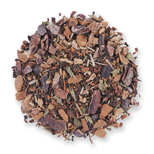 Dark Forest loose leaf herbal tea from The Jasmine Pearl Tea Co.