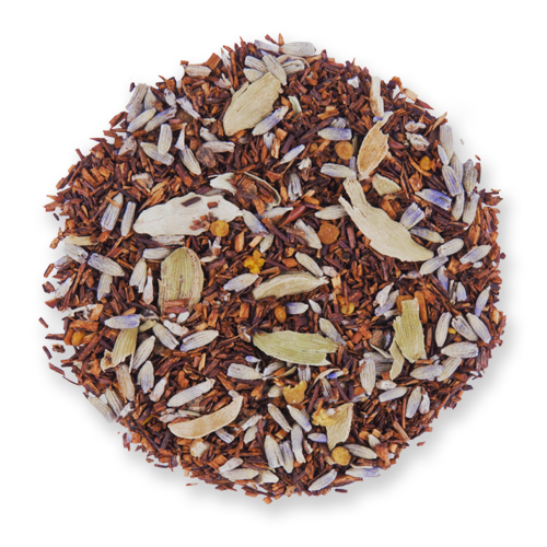 Lavender Honey Spice loose leaf herbal tea from The Jasmine Pearl Tea Co.